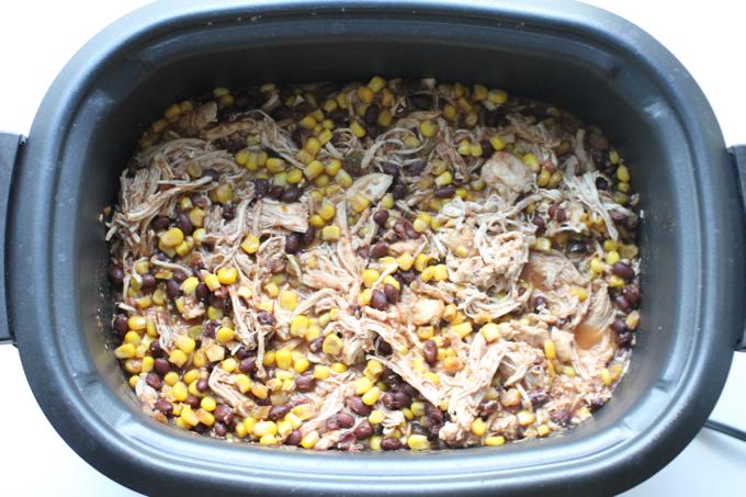 Crockpot Chicken Azteca