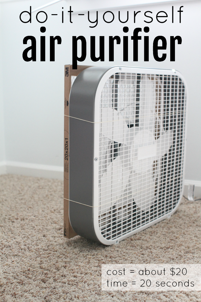 DIY Air Purifier You Can Make Yourself - Paintbrushes