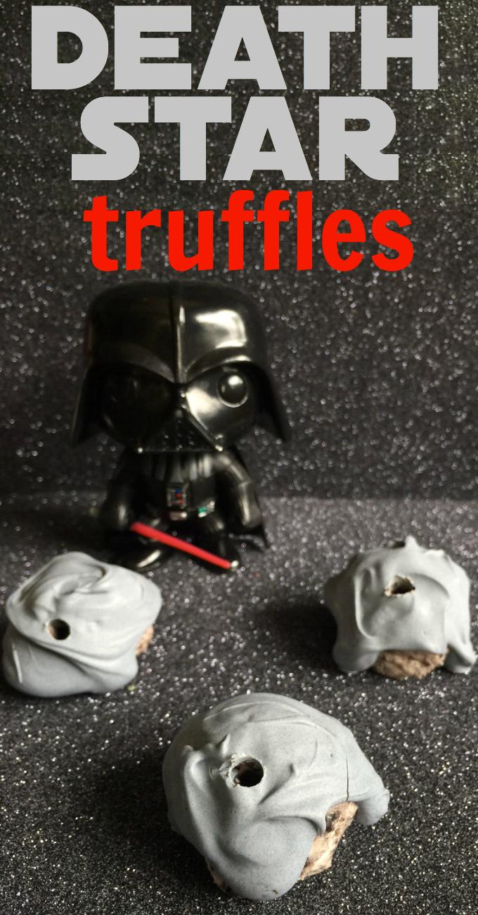 Star Wars Death Star Truffles