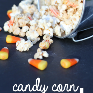 Delicious Candy Corn Crunch