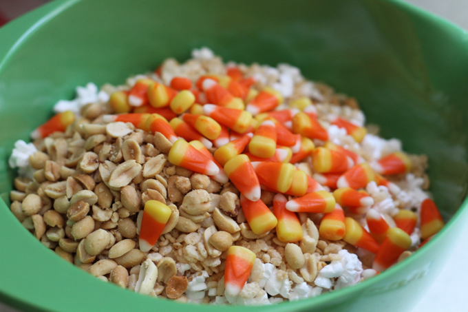 Candy Corn Crunch