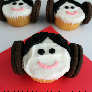 Star Wars Princess Leia Cupcakes