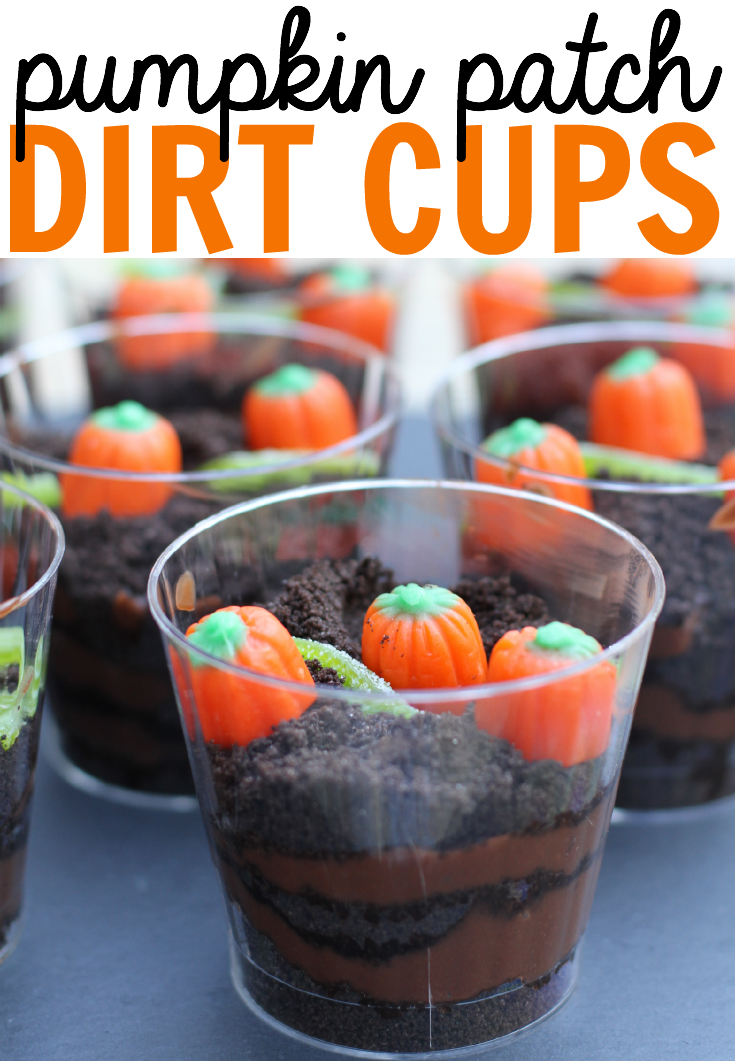 Pumpkin Patch Dirt Cup