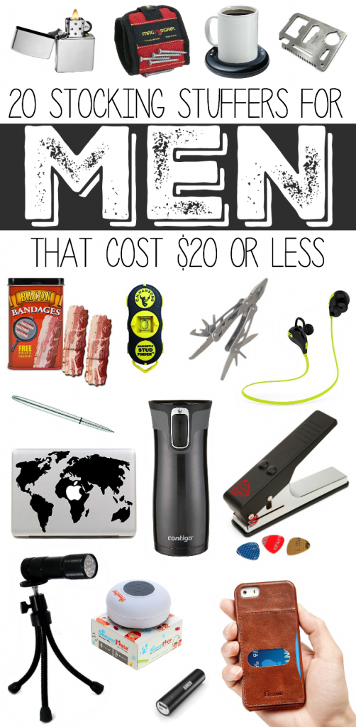 20 Stocking Stuffers for Men that Cost $20 or less