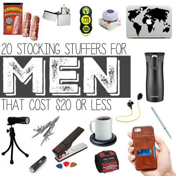 Stocking Stuffers for Men that Cost $20 or Less