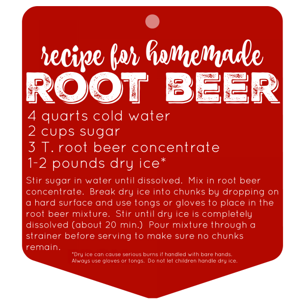 Recipe for Homemade Root Beer