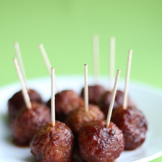 4-Ingredient Crock Pot Party Meatballs