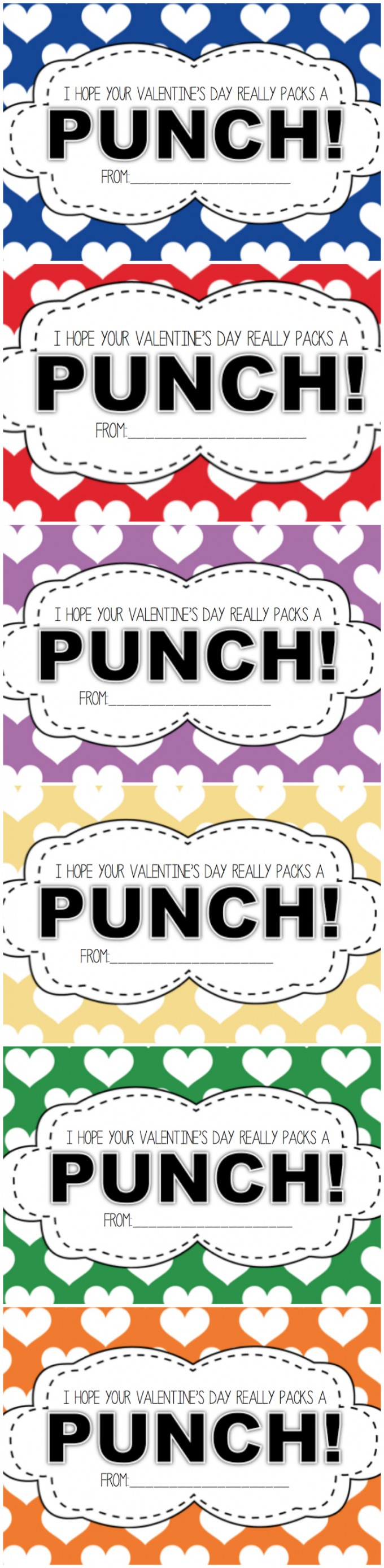 I Hope Your Valentineu0027s Day Really Packs A Punch