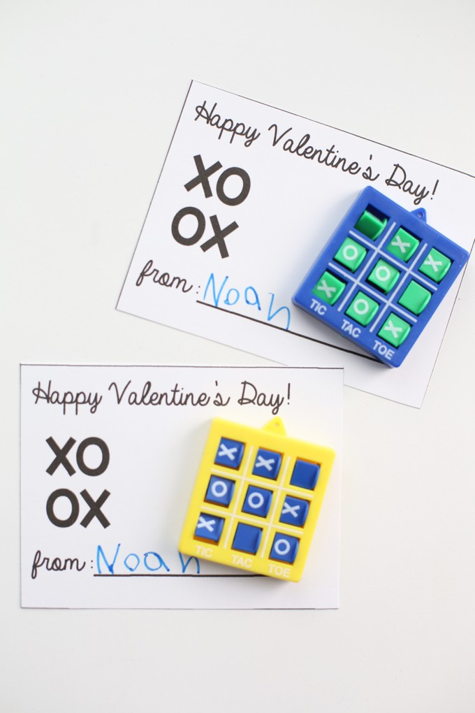 Tic-Tac-Toe Valentines