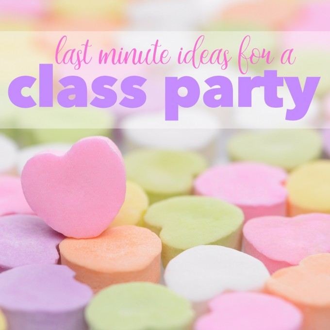 Last-Minute Valentine's Day Classroom Party Activities & Crafts