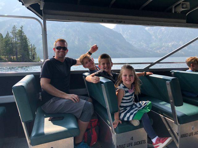 Jenny Lake Ferry Ride
