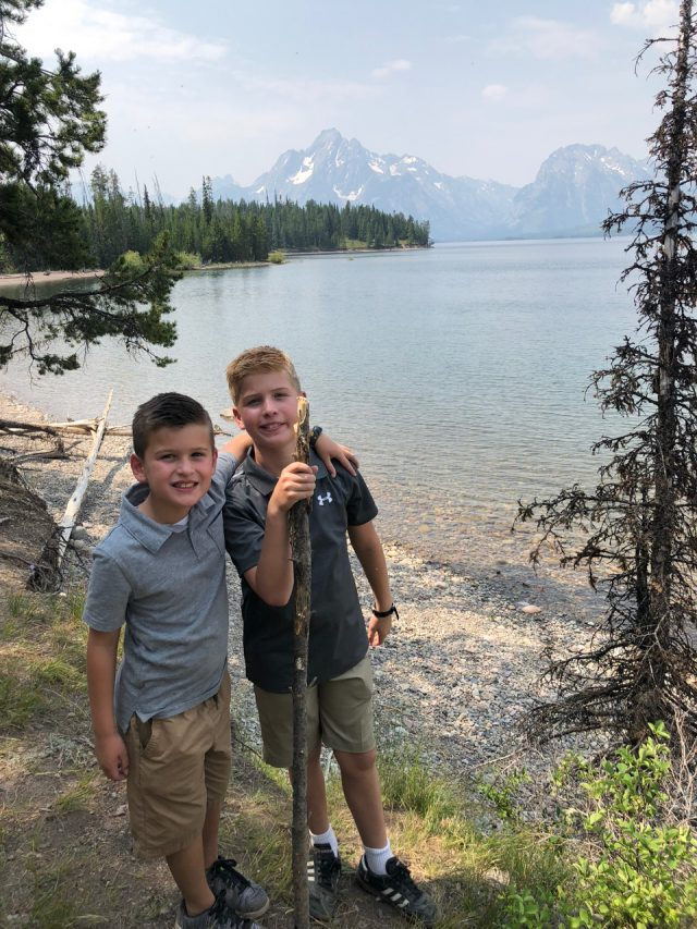 Colter Bay Grant Teton National Park