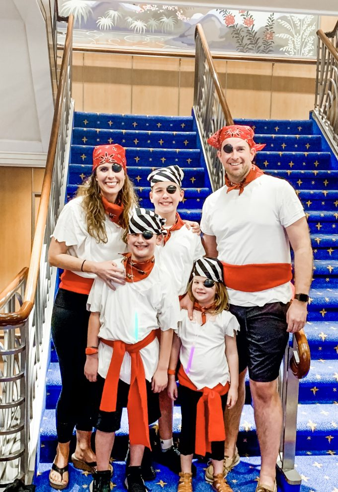 DIY Pirate Night Costumes